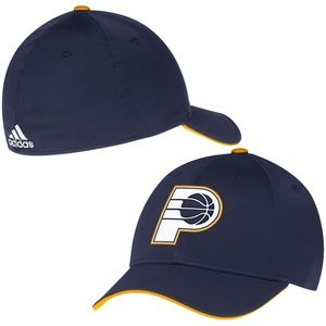 new Indiana Pacers adidas Flex Hat sz S/M